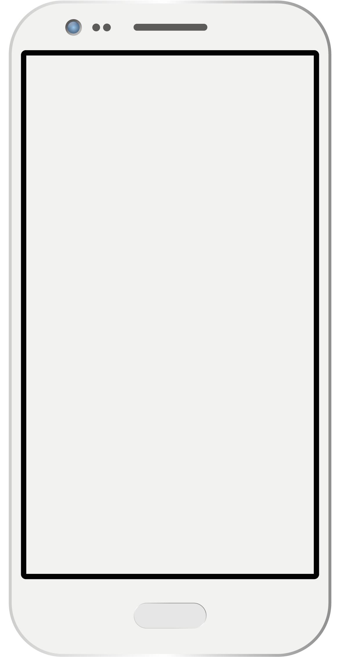 Mockup eines Handys